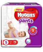 HUGGIES WONDER PANTS S 76S