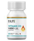 INLIFE VITAMIN D3 1000IU CAPSULE 60S