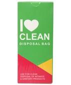 I LOVE CLEAN DISPOSAL BAG 10S
