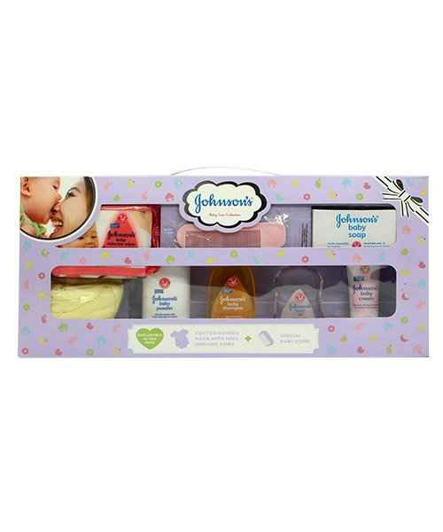 JOHNSON BABY CARE COLLECTIONS- LARGE PINK