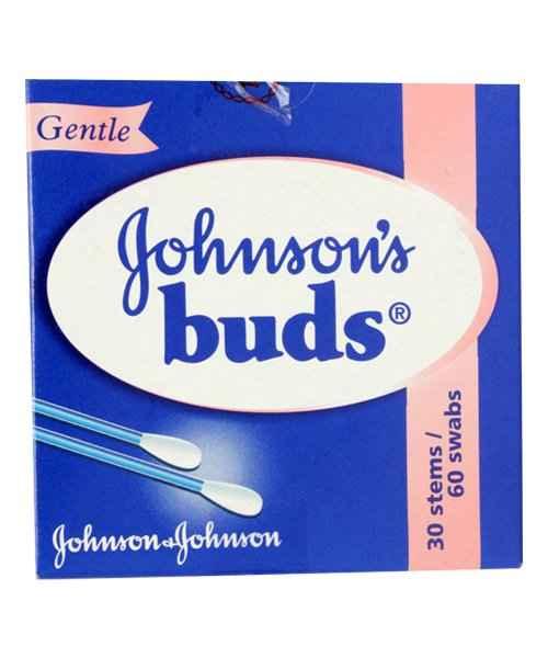 JOHNSONS EAR BUDS 60 S