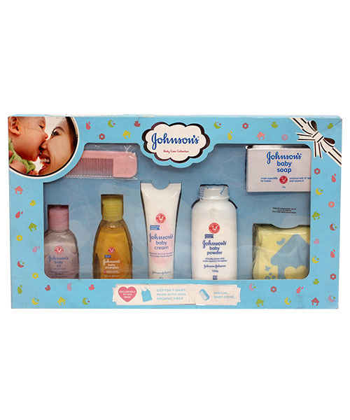 JOHNSON BABY CARE COLLECTIONS-BLUE