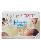 JOHNSONS BABY SOAP 4X125GM B3 G1