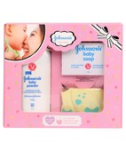 JOHNSON BABY CARE COLLECTIONS-MINI PINK