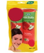 JOY SKIN FRUITS GENTLE CARE  FACE WASH APPLE 200ML PK OF 2