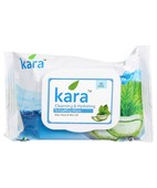 Kara Facial Wipes Aloe Vera&Mint Oil 30S