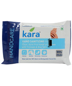 KARA HAND SANITIZING WET WIPES 10S