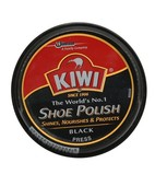 KIWI SHOE POLISH BLACK 15GM