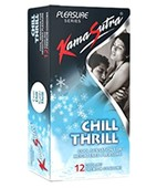 KAMASUTRA CHILL THRILL CONDOMS 12S