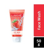 LAKME CLEANUP FACE WASH NOURISHING GLOW 50GM
