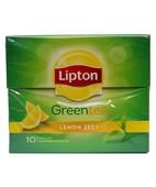 LIPTON GREEN TEA LEMON ZEST 10S TEA BAGS