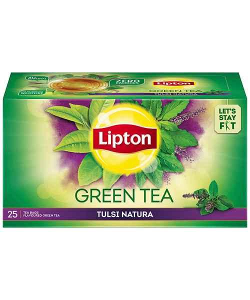 LIPTON GREEN TEA TULASI NATURA TEA BAGS 25S