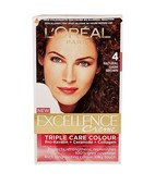 L'OREAL PARIS EXCELLENCE HAIR COLOR 4 NATURAL DARK BROWN