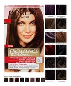 L'OREAL PARIS EXCELLENCE HAIR COLOR SHADE NO 4 NATURAL DARK BROWN