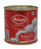 MAIYAS RASGULA TIN 275GM