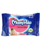 MAMY POKO BABY WIPES 20S