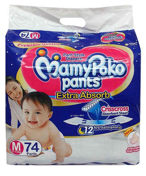 Mamy Poko Pants M 74 S