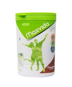 MAXVIDA CHOLOCATE JAR 400GM POWDER