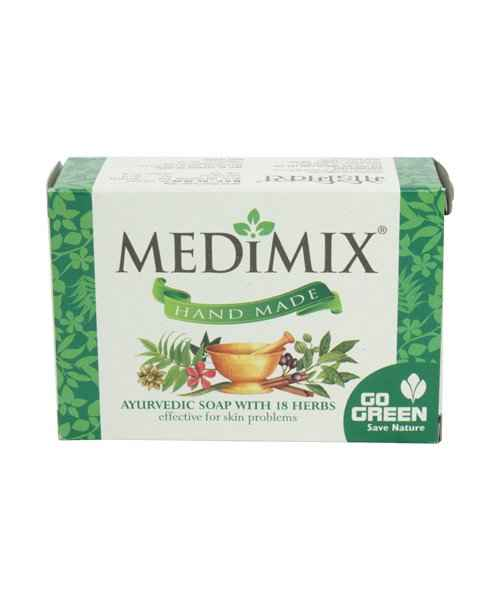 MEDIMIX HANDMADE AYURVEDIC SOAP 125GM