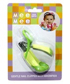 MEE MEE DELUXE NAIL CLIPPER WITH MAGNIFIER