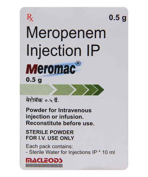 MEROMAC 0.5GM INJ