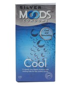 MOODS SILVER COOL 12S CONDOMS
