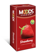 MOODS STRAWBERRY 12S CONDOMS