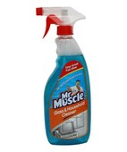 MR MUSCLE GLASS AND HOUSE HOLD CLEANER 500ML