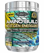 MUSCLETECH PERFORMANCE SERIES AMINO BUILD NEXT GEN ENERGIZED 280GM FRUIT PUNCH SPLASH