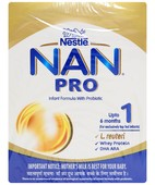 NAN PRO 1 INFANT FORMULA BB POWDER 400 GM