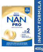 NAN PRO 2 FOLLOW UP INFANT FORMULA BB POWDER 400 GM