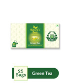NATURE'S BEST GREEN TEA 25 BAGS