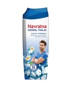 NAVRATNA COOL TALC MINT FRESH POWDER 100GM