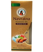 NAVRATNA ALMOND COOL OIL 100ML