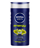 NIVEA FOR MEN ENERGY SHOWER GEL WITH MINT EXTRACT 250ML