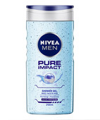 NIVEA FOR MEN PURE IMPACT  SHOWER GEL  250ML