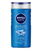 NIVEA FOR MEN VITALITY FRESH SHOWER GEL 250ML