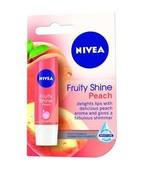 NIVEA LIP CARE LIP BALM FRUITY SHINE PEACH 4.8GM