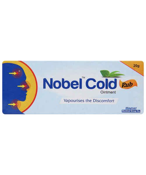 NOBEL COLD 20GM RUB OINT