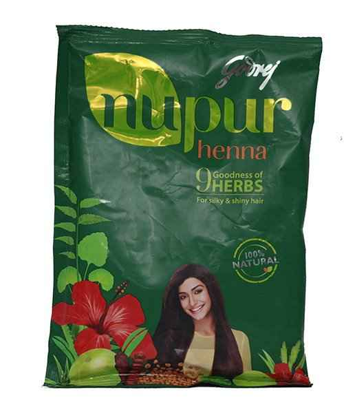 7d929facb NUPUR HENNA MAHENDI 140GM ( GODREJ ) - Buy NUPUR HENNA MAHENDI 140GM ...