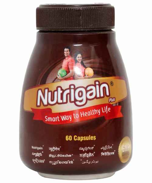 NUTRIGAIN PLUS 60S CAP