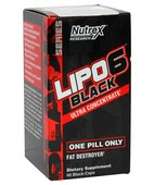NUTREX RESEARCH LIPO-6 BLACK UC 60 CAPS