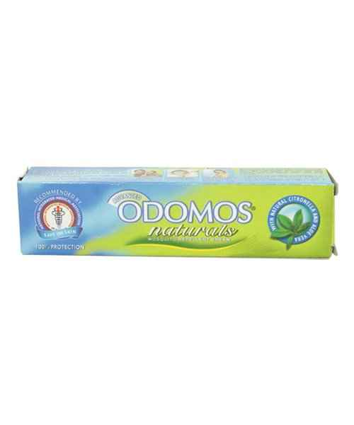 ODOMOS NATURALS NON-STICKY MOSQUITO REPELLENT CREAM 25GM