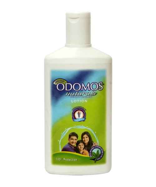 ODOMOS NATURALS NON-STICKY MOSQUITO REPELLENT LOTION 120ML