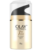 OLAY TOTAL EFFECTS 7 IN ONE ANTI AGENING CREAM DAY SPF 15 NORMAL 50GM
