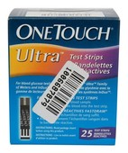 ONE TOUCH ULTRA STRIPS 25S