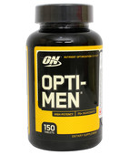 OPTIMUM NUTRITION OPTI-MEN - US 2013 - 150 CT