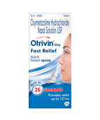 OTRIVIN OXY FAST RELIEF ADULT NASAL 10ML SPRAY