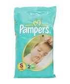 PAMPERS SMALL DIAPERS 2S