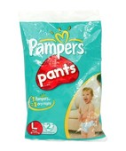 PAMPERS EASY PANTS LARGE 2S